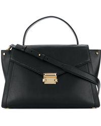 MICHAEL Michael Kors - Whitney Large Leather Shoulder Bag - Lyst