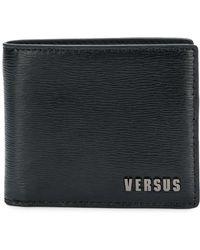 Versus - Logo Print Leather Wallet - Lyst