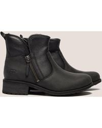 UGG - Womens Lavelle Ankle Boot Black - Lyst