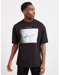 424ab503 Lyst - KENZO 'i Love You' Fan Sign Cotton T-shirt in Black for Men