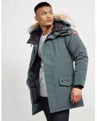 Canada Goose - Mens Langford Parka Jacket Slate - Lyst