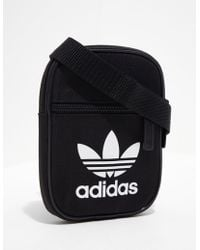 adidas Originals - Mens Trefoil Festival Bag Black - Lyst
