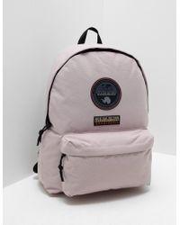Napapijri - Mens Voyage Backpack Pink/pink - Lyst