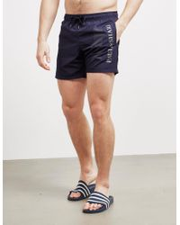 Paul & Shark - Large Logo Swim Shorts Navy Blue - Lyst