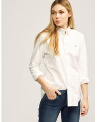 Polo Ralph Lauren - Womens Harper Shirt White - Lyst