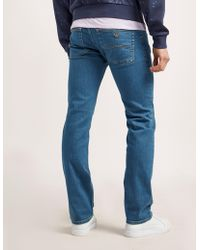 Armani Jeans - Mens J45 Jeans - Long Blue - Lyst