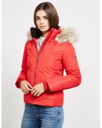 4fb4793a Tommy Hilfiger Womens Padded Jacket Blue in Blue - Lyst