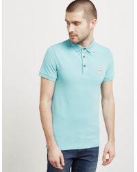 BOSS - Mens Passenger Short Sleeve Polo Shirt Aqua/aqua - Lyst