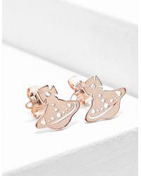 Vivienne Westwood - Womens Yeni Earrings Rose Gold - Lyst