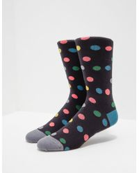 PS by Paul Smith - Mens Polka Dot Socks - Online Exclusive Black - Lyst