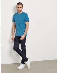 Barbour - Mens Sports Short Sleeve T-shirt Blue - Lyst