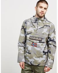Napapijri - Mens Rainforest Summer Camo Jacket - Exclusive - Exclusively To Tessuti Camo/camo - Lyst