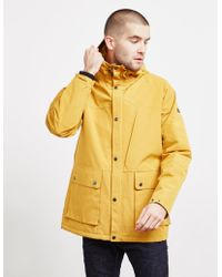 Barbour - Ridge Padded Jacket Yellow - Lyst