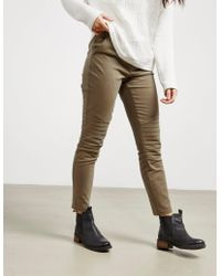 BOSS - Womens Cargo Trousers Green - Lyst