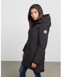 Canada Goose - Womens Kinley Parka Padded Jacket Black - Lyst