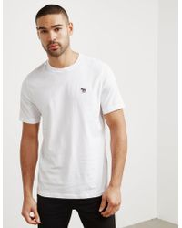 PS by Paul Smith - Mens Zebra Short Sleeve T-shirt White - Lyst