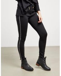 Barbour - Womens International Track Trousers - Online Exclusive Black - Lyst