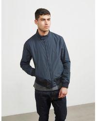 Barbour - Mens Royston Jacket Navy Blue - Lyst