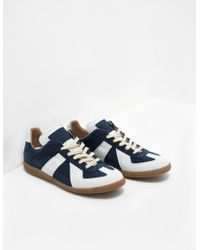 Maison Margiela - Replica Pearl Trainers - Online Exclusive Navy Blue - Lyst