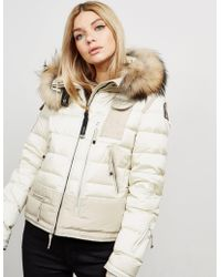 Parajumpers - Womens Ski Master Padded Jacket Cream - Lyst