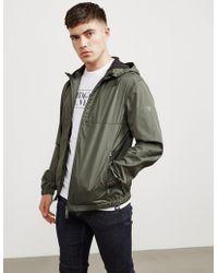 Emporio Armani - Mens Plain Hooded Jacket Green - Lyst