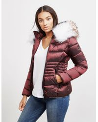 FROCCELLA - Womens Quilted Mid Jacket Red - Lyst