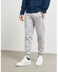 Michael Kors - Mens Logo Cuffed Track Trousers Grey - Lyst