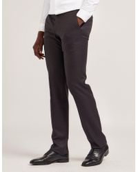 Armani - Mens Classic Trousers Grey - Lyst