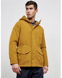 Barbour - Rivington Padded Jacket Yellow - Lyst