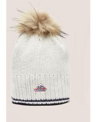 Pyrenex - Womens Aboa Beanie Light Grey - Lyst