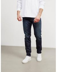 Replay - Mens Anbass Slim Jeans Dark Wash/dark Wash - Lyst