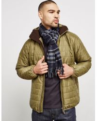 Barbour - Mens International Traction Scarf Navy - Lyst