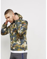 Paul And Shark - Mens Shark Camoflauge Jacket - Online Exclusive Olive/camo - Lyst