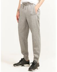 Armani Jeans - Mens Cuffed Track Trousers Grey - Lyst