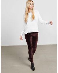 Rag & Bone - Womens Theo Long Sleeve T-shirt White - Lyst