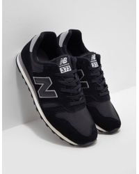 New Balance - Mens 373 Black - Lyst