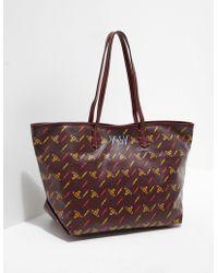 Vivienne Westwood | Womens Collette Small Shopper Bag Brown | Lyst