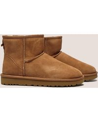 UGG - Womens Classic Mini Ii - Online Exclusive Brown - Lyst