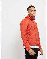 Pal Zileri - Mens Trim Hooded Jacket Red - Lyst