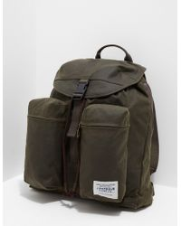 Barbour - Mens Archive Backpack Green - Lyst