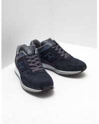 Hogan - Mens H321 Trainers Navy Blue - Lyst
