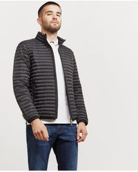 Emporio Armani - Mens Basic Quilted Blouson Jacket Black - Lyst
