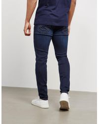 True Religion - Mens Jack Slim Jeans Blue - Lyst