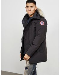 Canada Goose - Mens Chateau Padded Parka Jacket Black - Lyst