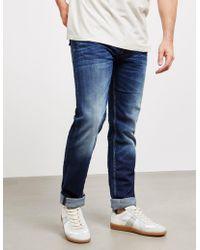 Stone Island - Mens Straight Vintage Jeans Blue - Lyst