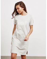 Barbour - Morzine Dress Grey - Lyst