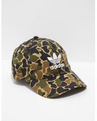 7f68bc72a15 Lyst - Adidas Originals Mens Trefoil Bucket Hat Black black in Black ...