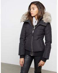 Mackage - Womens Romane Fur Padded Jacket - Online Exclusive Black - Lyst