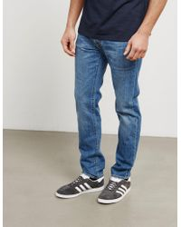 Edwin - Mens Ed-80 Kingston Slim Tapered Jeans Blue - Lyst
