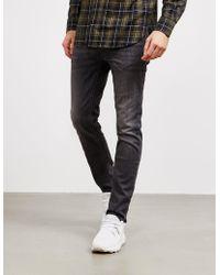 Neil Barrett - Mens Super Skinny Jeans Grey - Lyst